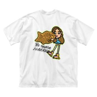 NGS Miyu Big silhouette T-shirts