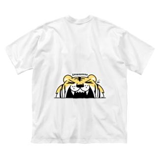 BK*トラがガーーーーーーッ!でかっ Big T-shirts