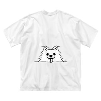 BK*ポメラニアンがでかっ! Big T-shirts