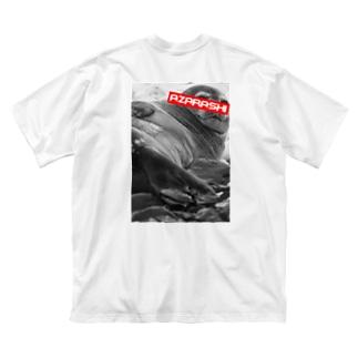 A.ZA.RA.SHI Big silhouette T-shirts