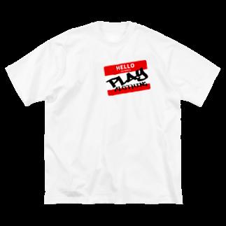 PLAY clothingのHELLO MY NAME IS PLAY  R ① Big silhouette T-shirts