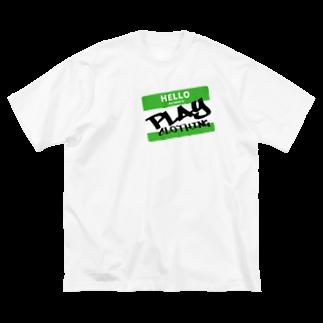 PLAY clothingのHELLO MY NAME IS PLAY  GR ① Big silhouette T-shirts