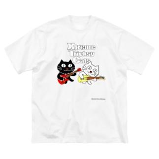 ネコ兄弟 tXTC_18 Big silhouette T-shirts