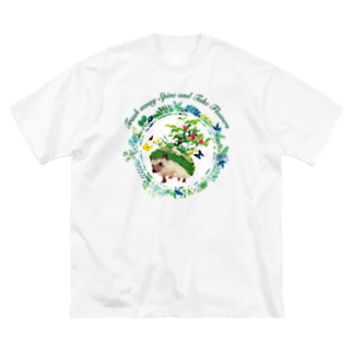 HIGEQLOのTrash away Spine Big silhouette T-shirts
