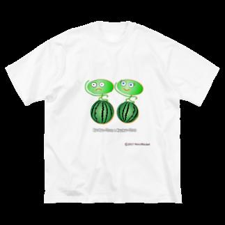 ネコ兄弟のキョキョちゃん tKYO_03 Big silhouette T-shirts