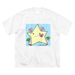 ヒトデチャーミング  Big Silhouette T-Shirt