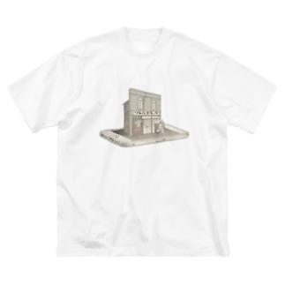 リトルスタッフ! Big silhouette T-shirts