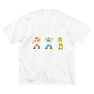マスクマンズ Big silhouette T-shirts