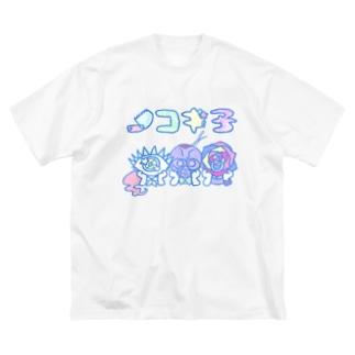 ノコギ子ちゃん Big silhouette T-shirts