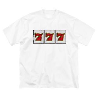 777 Big silhouette T-shirts