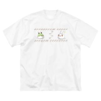 それじゃB級、死神くん。うさ魂デザイン Big silhouette T-shirts