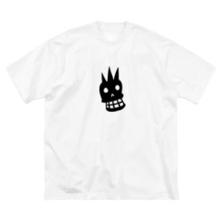ドクロマーク Big silhouette T-shirts