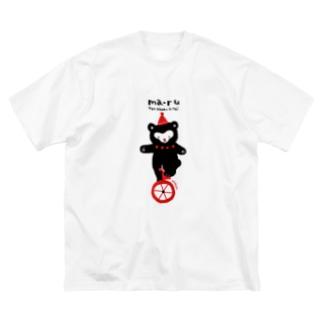 マールくん Big Silhouette T-Shirt