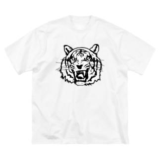 BIG CAT Big silhouette T-shirts