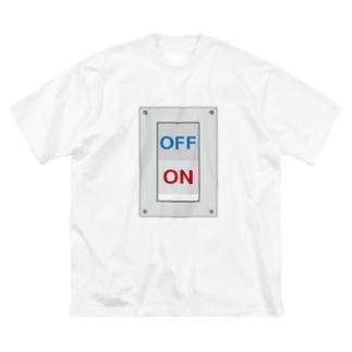 スイッチオフ Big silhouette T-shirts