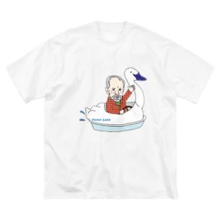 作曲家シリーズ:チャイコフスキー Big silhouette T-shirts