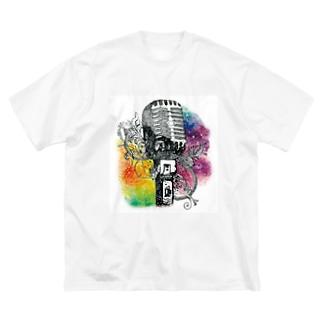 ジェネステ(ロゴ無し) Big silhouette T-shirts