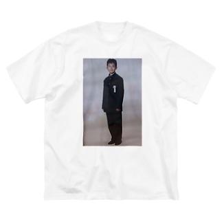 hosoe(okuba) Big silhouette T-shirts