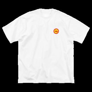 くらりの半額(胸元) Big silhouette T-shirts