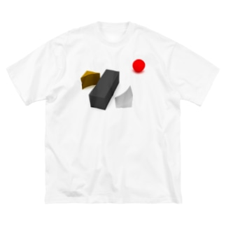 K. and His Designの100日後に死ぬ◯◯◯◯◯ Big silhouette T-shirts