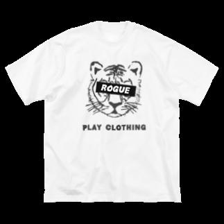 PLAY clothingのTIGER ① Big silhouette T-shirts