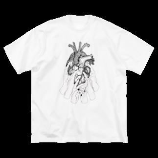 嵬の糧 Big silhouette T-shirts