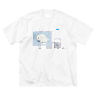 「ごめん々ね 」と言っの北極 Big silhouette T-shirts