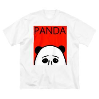 PANDA Big silhouette T-shirts