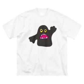 オバケみたいなの Big silhouette T-shirts