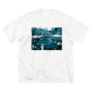 尾瀬 Big silhouette T-shirts