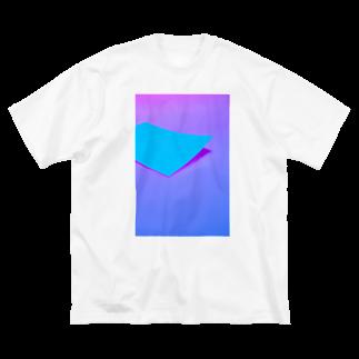 くらりのPAL_1_1 Big silhouette T-shirts