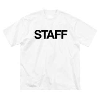 STAFF Big silhouette T-shirts