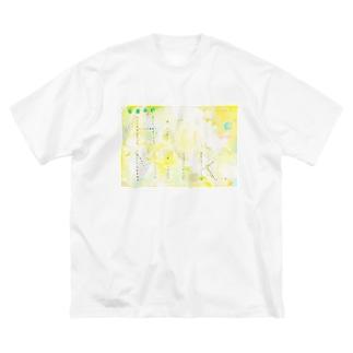 Hi Milk Big silhouette T-shirts