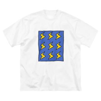 BIRIBIRI Big silhouette T-shirts