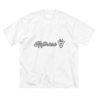 拗らせ鹿BUSHIKA(第2話) Big silhouette T-shirts