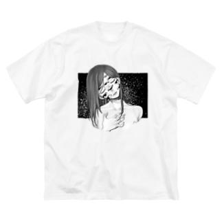 lie Big silhouette T-shirts