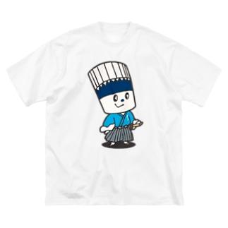 そうめん侍 Big silhouette T-shirts