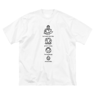 Bloom Big silhouette T-shirts