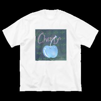 シュウマイのバニラ味の🧼ミントチェリー🍒 Big silhouette T-shirts