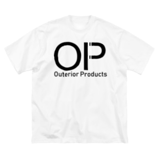 outeriorproducts Big silhouette T-shirts