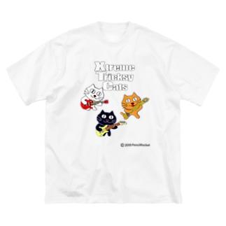 ネコ兄弟 tXTC_60 Big silhouette T-shirts