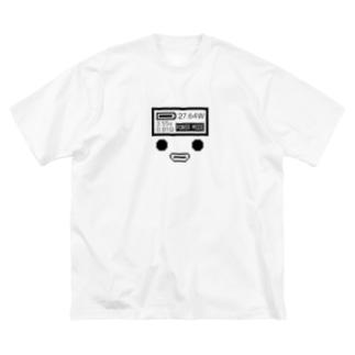 コンソール Big silhouette T-shirts