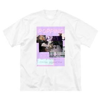 しぐねちゃ Big silhouette T-shirts