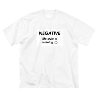 negative  Big silhouette T-shirts