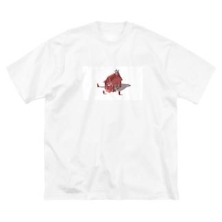 不思議の国のアリス Big silhouette T-shirts