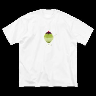 NIKORASU GOの宇治金時<文字なし> Big silhouette T-shirts
