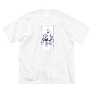 Cool girl prototype  Big silhouette T-shirts