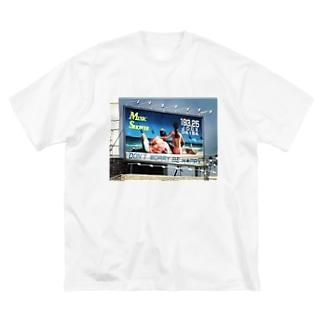 ロンバケ Big silhouette T-shirts