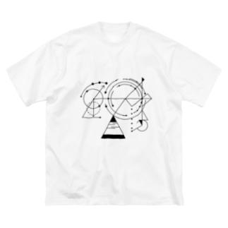 天秤に問う Big silhouette T-shirts