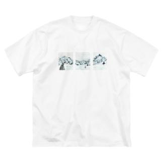 サンクチュアリ Big silhouette T-shirts
